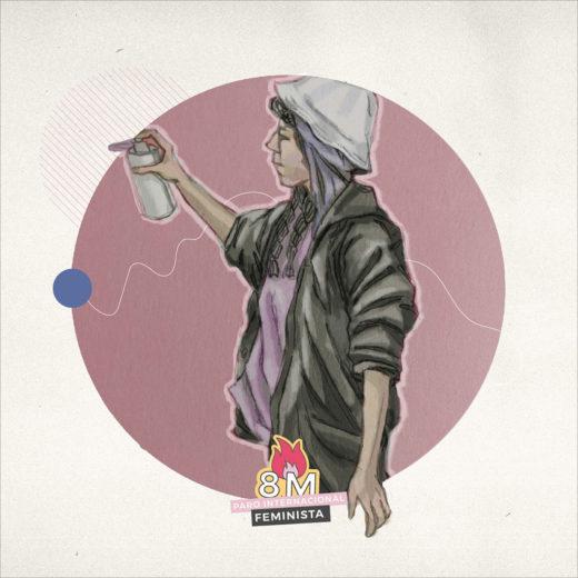 Graffitis, feminismos y desobediencia
